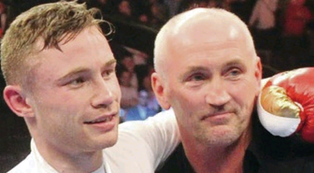 United front: Barry McGuigan has faith in Carl Frampton