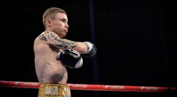 World in his hands: Dave McAuley says Carl Frampton will strike it rich on Saturday