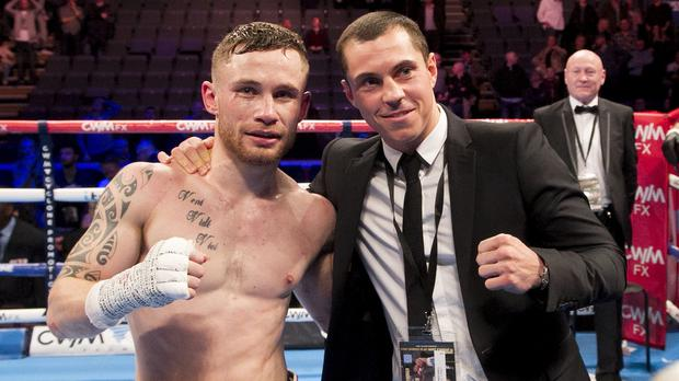 A summer fight between Carl Frampton, left, and Scott Quigg, right, will not go ahead