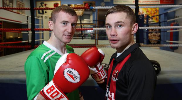 Close pals: Paddy Barnes has the utmost respect for World Champion Carl Frampton
