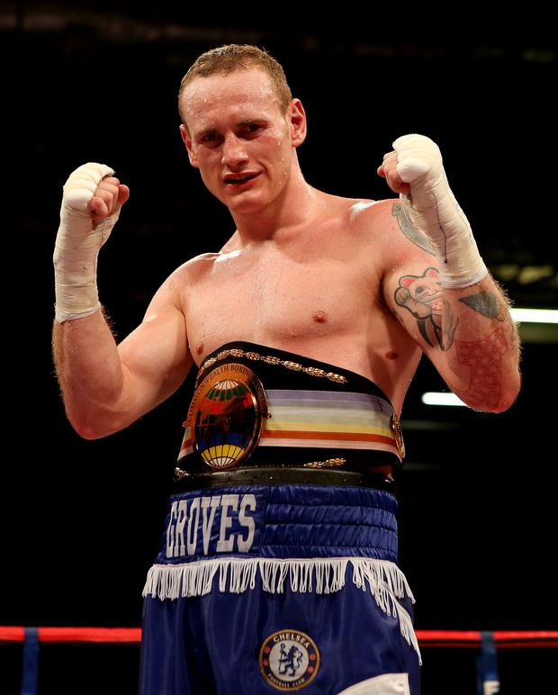 Big challenge: George Groves eyes world title