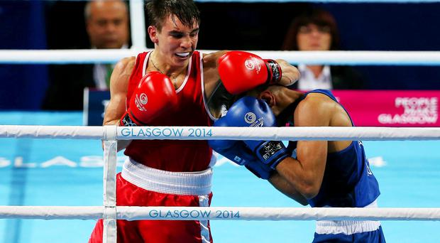 Top class: Michael Conlan is on course for Euro gold