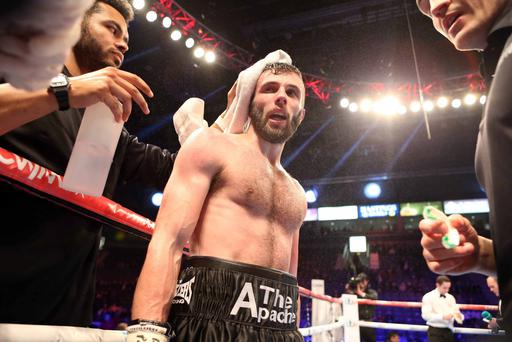 Hard puncher: Anthony Cacace is on Edinburgh bill