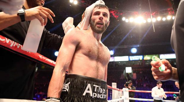 Hard hitting Belfast man Anthony Cacace is on course for a shot at the British super-featherweight title before Christmas