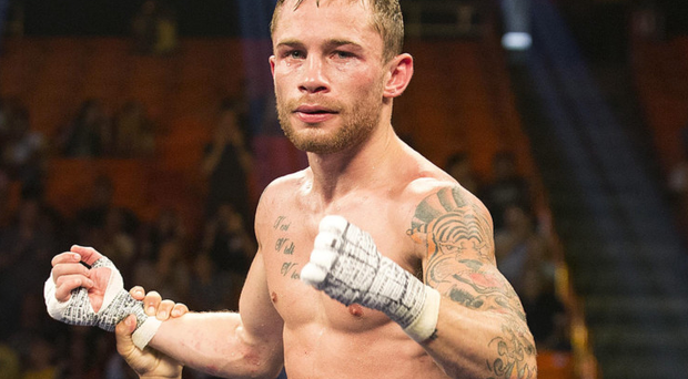 Showdown: Carl Frampton will face fierce rival Scott Quigg