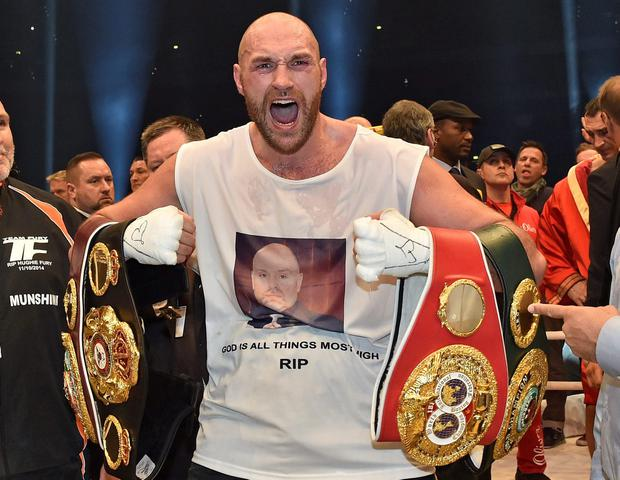 Tyson Fury said Jessica Ennis-Hill 'slaps up good'
