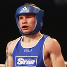 Young gun: Carl Frampton at the 2009 Irish Elite Championships