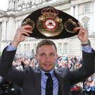 Carl Frampton is eyeing more success
