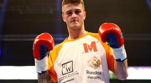 Marc McCullough kick-started his career again with a comprehensive points victory in Glasgow's Crowne Plaza hotel last night