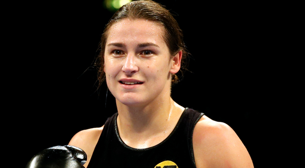 Fightin' fit: Ireland's Katie Taylor