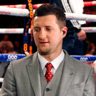Certain: Carl Froch is sure Carl Frampton will triumph