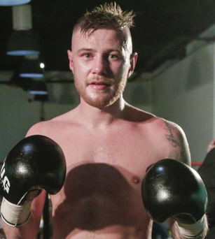 Big chance: Paul Hyland Jnr is out to impress at the Europa