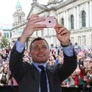 Carl Frampton is heading home to Belfast for his next fight on July 29