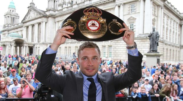Carl Frampton will fight Mexico's Andres Gutierrez in Belfast on July 29