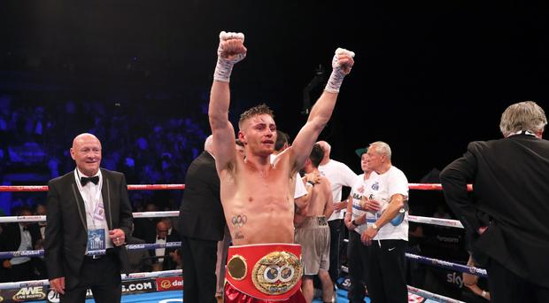 Ryan Burnett, pictured, won the IBF bantamweight title against Lee Haskins in June