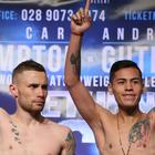 Carl Frampton will not fight Andres Gutierrez