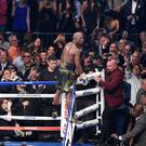 Floyd Mayweather beat Conor McGregor in 10 rounds in Las Vegas