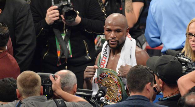 Floyd Mayweather says his professional fighting career is over after the stoppage of Conor McGregor