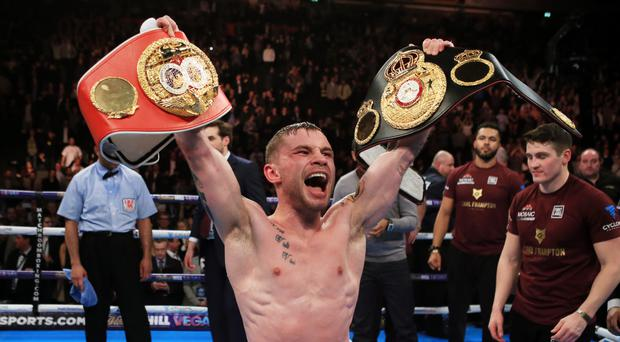 Carl Frampton is a former two-weight world champion