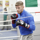 Focused: Paul Hyland takes on Steven Ormond on Saturday