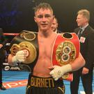 Impressive: Ryan Burnett is 'ready for every challenge'