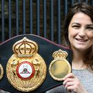 Katie Taylor will take on Jessica McCaskill in December