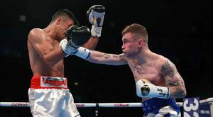 Carl Frampton, right, outpointed Horacio Garcia last month