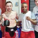 Carl Frampton sparred with Isaac Dogboe in 2014 and was full of praise for the young fighter.