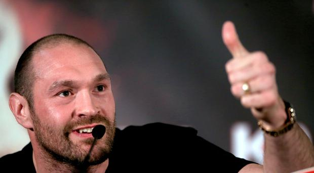 Tyson Fury's licence suspension will be lifted if he passes a medical (Nick Potts/PA)