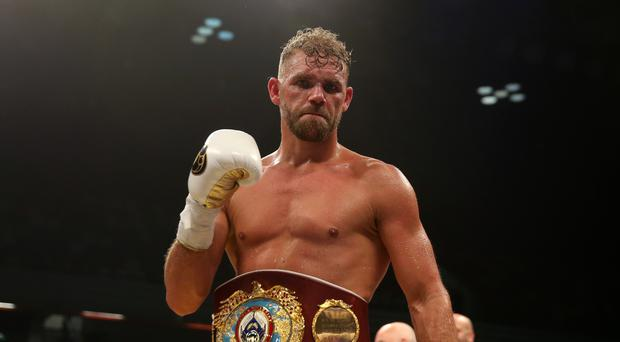 Billy Joe Saunders has made three successful defences of his WBO middleweight title
