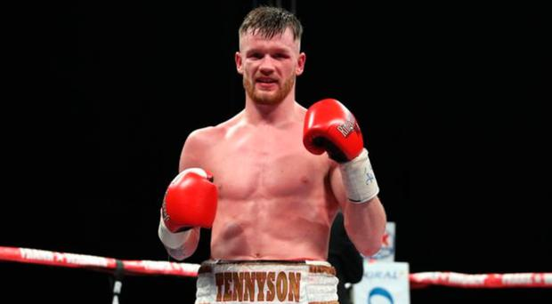 Short fight: Tennyson knocked out Solano after 59 seconds