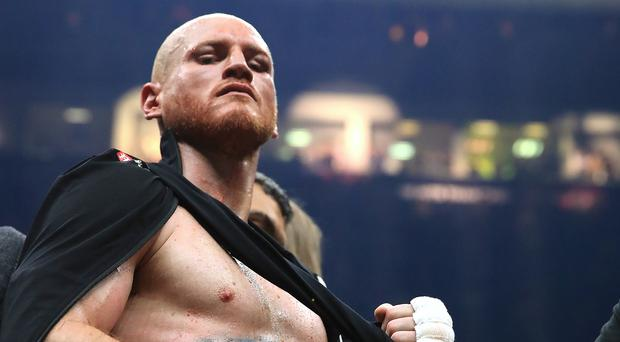 George Groves' shoulder injury did not prevent him from winning (Peter Byrne/PA)