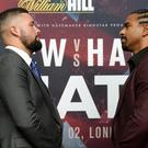 Tony Bellew v David Haye II Press Conference – Park Plaza Westminster Bridge