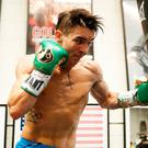 Fighting fit: Michael Conlan is relishing his return to the ring on St Patrick's Day at Madison Square Garden