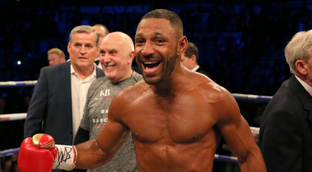 Kell Brook stopped Sergey Rabchenk in the second round