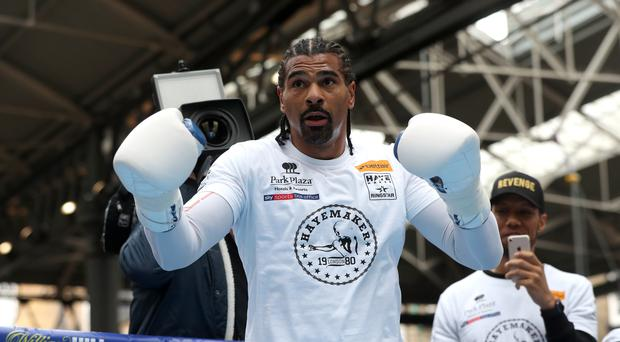 David Haye insists his chances do not depend on securing an early knockout