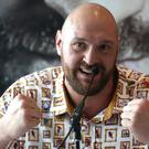 Tyson Fury begins his comeback at the Manchester Arena next Saturday (Nigel French/PA)