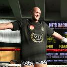 """Tyson Fury insists he is """"right on course"""" as he returns to the ring after almost three years away (Nick Potts/PA)."""