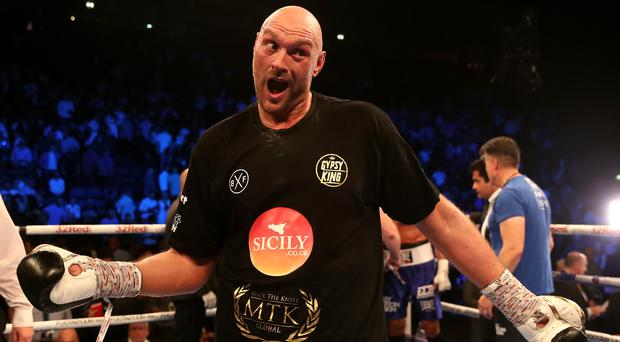 Tyson Fury claims he will have a world title by the end of the year (Nick Potts/PA)