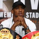 Anthony Joshua has another big Wembley fight to come (John Walton/PA)