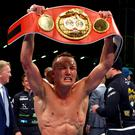 Josh Warrington has big plans after claiming the IBF featherweight title (Dave Thompson/PA)
