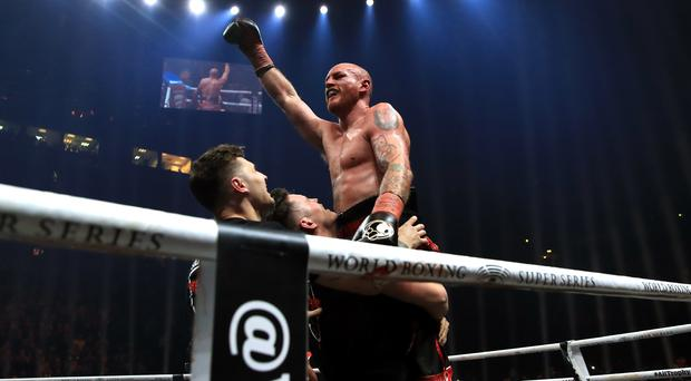 George Groves is the defending WBA super-middleweight champion (Peter Byrne/PA)