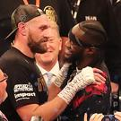Tyson Fury and Deontay Wilder have agreed to a fight (Niall Carson/PA)