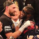Tyson Fury will take on Deontay Wilder on December 1 (Niall Carson/PA)