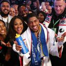 Anthony Joshua has his eyes on his next fight (Nick Potts/PA)