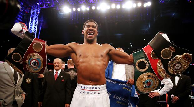 Anthony Joshua says he is ready (Nick Potts/PA)