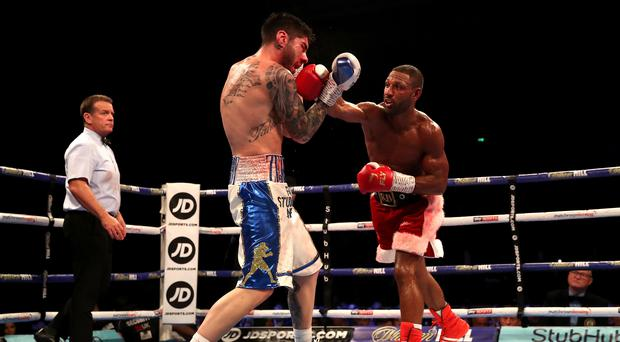Kell Brook was far from his best as he beat Michael Zerafa on points (Nick Potts/PA).