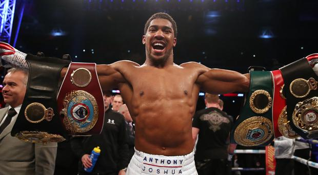 Anthony Joshua says he is ready to go (Nick Potts/PA)