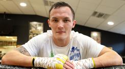 Josh Warrington, pictured, believes he can silence his detractors by beating Carl Frampton this weekend (Martin Rickett/PA)
