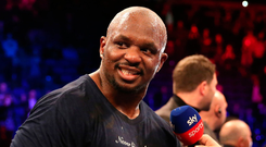 Power: Dillian Whyte produced a highlight reel knockout in 11th round